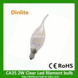 Ca35 2W Flame LED Light Bulb
