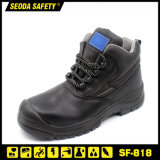 Fiberglass Toe Cap Non Magnetic Leather Safety Work Shoe