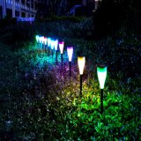 High Performance Light Series Cheap Outdoor Decorative Solar Rechargeable Lamp with Color Changing