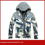 Custom Made Fashion Cheap Printing Camouflage Jacket for Men for Sports (J183)