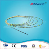 Easy to Pass Through Workingchannel! ! Zebra Coated Hydrophilic Guide Wires