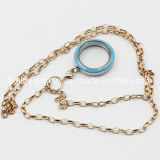 Stainless Steel Fashion Necklace Jewelry with Locket Pendant