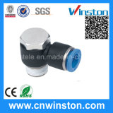 Plastic Air Tube Threaded Quick Pneumatic Hose Fitting with CE
