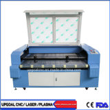 Leather Car Seat Cover CO2 Laser Cutting Machine with Double Heads/Auto Feeding System