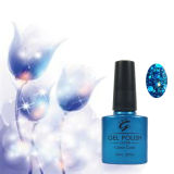 New Popular Color Glitter Three Step UV Gel Nail Polish