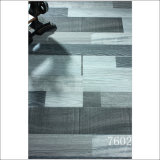 Gray Color Brushed Grain Strips 8.3mm/12.3mm Laminated Wood Flooring