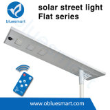 100W IP65 Integrated LED Solar Street Lamp with Lithiuim Battery