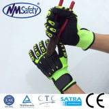 Nmsafety Cut and TPR Impact Resistant Hand Protection Work Safety Gloves
