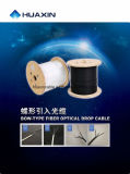 Drop Cable FTTH Gjxh 1 Core Fiber Optic Cable