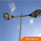 Street Lighting Pole with Double Arms