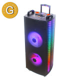High Power Double 15 Inch Bluetooth Speaker with Perfect Sound