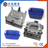 Laundry Basket Plastic Injection Mould Plastic Vegetable Basket Mould