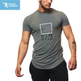 Cheap Soft Breathable Bodybuilding Clothing Sports Gym T-Shirts Supplier
