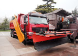 Popular Products in Central Asia HOWO 6X4 50tons Snow Sweeper Truck