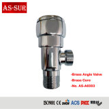 Compact Best Price Low Pressure Brass Wash Basin Angle Seat Water Valve A6003