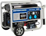 50/60Hz 5000watts 5kw Electric Starter Small Single and Three Phase Petrol Portable Generator with Wheel Kit
