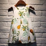Green Floral Dress for Girls