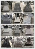 Black Granite/G603/G654/Shanxi Black/Chinese South African Black Granite Tombstone/Momument/Grovestone/Headstone for European Style