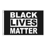 Wholesale 3X5FT Large Black Lives Matter I Can't Breathe Flag Custom Banner