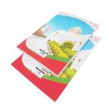 Good Price Back Pocket Design PVC Jacket Notebook