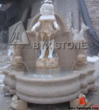 Colorful Marble Water Wall Fountain for Garden