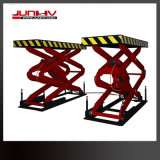 Junhv 3500kg Garage Equipment Big Scissor Vehicle Lift