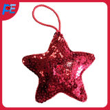 Glitter Star Shaped Hanging for Party and Christmas Tree Decoration