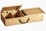 Solid Wooden Storage Box for Coffee Beans