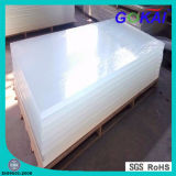 Transparent Clear and White Plexiglass Sheet
