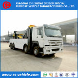 HOWO 2*25tons Road Recovery Wrecker Truck 50tons Road Wrecker Truck