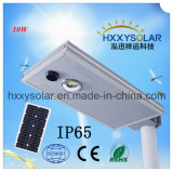 Small Wattage 10W Solar Energy Integrated LED Street Light
