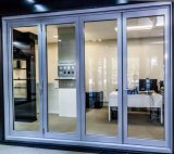 Delicate Double Glass Thermally Broken Aluminium Sliding Exterior Doors System