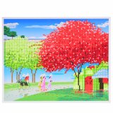 Factory Direct Wholesale Children DIY Crystal Oil Painting Photo Frame FK-112