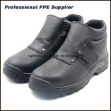 Genuine Leather No Lace Work Boots for Welder Worker