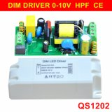8-22W 0-10V Dimmable Panel Light LED Driver with Ce 5 Years Warranty QS1202