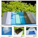 Twin Wall Hollow Polycarbonate Roofing Sheet