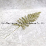 Gold Decorative Christmas Tree Branches Christmas Ornaments