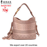 Guangzhou Factory Have Stocks Without Any MOQ 2018 New PU Leather Fashion Designer Women Female Tote Ladies Handbag