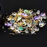 Fashion 3D Nail Art Stone Drop Shape Crystal Wholesale Rhinestone Nail Art Accessories (NR-29)