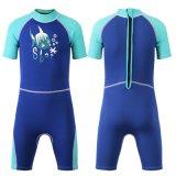 Hot Sale Kid Short Sleeve Swimwear & Neoprene / Lycra Color Diving Suit