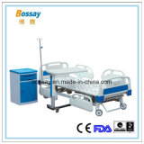ICU Medical Equipment Three Function Manual Hospital Bed for Sale