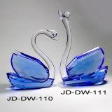 Crystal Swan Crystal Wedding Gift (JD-DW-110-111)