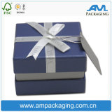 Make Your Own Design High End Rigid Paper Gift Packaging Lid-off Jewellery Box