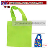 Party Canvas Tote Bags Lime Paintable Mini Tote (P5014)