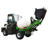 Full Hydraulic Self Loader Mobile Cement Mixer Truck