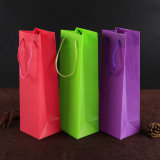 eco-friendly fashion promotion bag plastic lady PVC handbag(PVC bag)