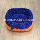 Blue Soft Warm Pet Bed Dog Cat Bedding House Cushion