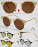 New Fashionable Half Rim Sunglasses Unisex Glasses (WSP601521)