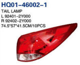 Tail/Rear/Back Corner Lamp Assembly for Hyundai Tucson 2010-2013 OEM#92402-2s020/92401-2s020
