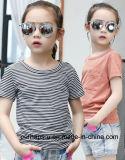 Summer Casual Girls Striped T-Shirt Children Clothes